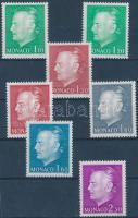 1980 III. Rainier herceg 2 klf sor Mi 1401-1405 + 1429-1430