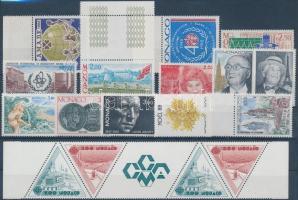 1987-1988 15 klf bélyeg (közte ívszéli bélyegek és ívszéli ötöscsík)