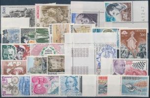 1988-1990 22 klf bélyeg (közte ívszéli és ívsarki bélyegek)