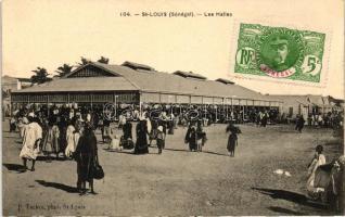 Saint Louis, Les Halles / market hall