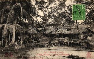Tonkin, Village du Papier; Bussin de Maceration