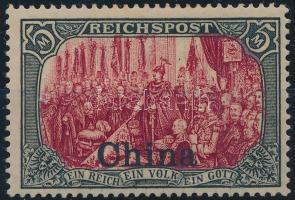 China 1901 Mi 27 III Signed: Schmidt