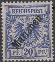 Marianen 1899 Mi 4 I Sign: Wittmann