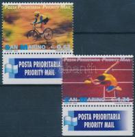 Priority mail margin set, Elsőbbségi posta ívszéli sor