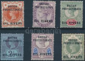 Oil Rivers 1892 Mi 1-6