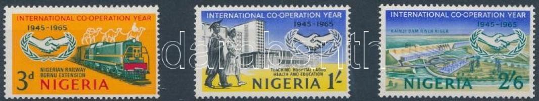 1965 20 éves az ENSZ sor Mi 169-171