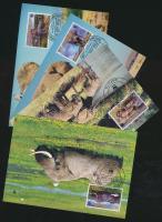 2002 WWF Afrikai elefánt sor Mi 2393-2396 4 CM