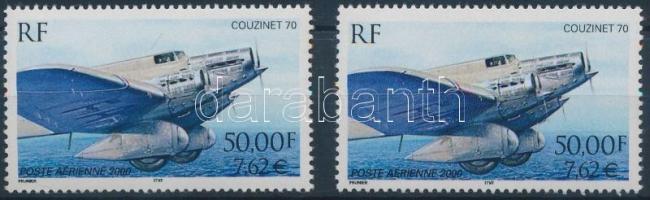 2000 Repülőgép Mi 3441 A + C