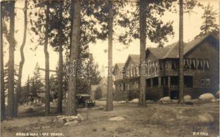 Brockway, Lake Tahoe, automobile