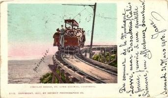 California, Mt. Lowe Railway, Circular bridge