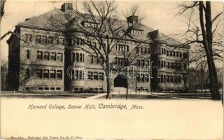 Cambridge, Seaver Hall, Harvard College