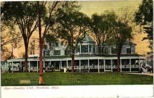 Brookline, Country club