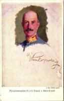 Armeekommandant G.d.K. Eduard von Böhm-Ermolli; Rotes Kreuz Kriegsfürsorgeamt Kriegshilfsbüro Nr. 252 s: J. Qu. Adams gem., Eduard von Böhm-Ermolli cs. és kir. tábornagy; Rotes Kreuz Kriegsfürsorgeamt Kriegshilfsbüro Nr. 252 s: J. Qu. Adams gem.