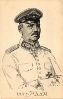 General Von Kluck, Alexander von Kluck német tábornok