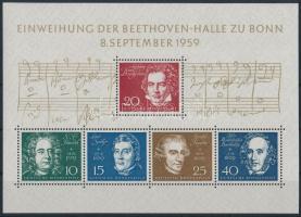 1959 Beethoven Hall felavatása, Bonn blokk Mi 2
