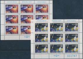 1991 Europa CEPT, Űrkutatás kisív sor Mi 2476-2477