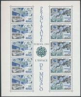 1991 Europa CEPT, Űrkutatás ívsarki blokk Mi 50