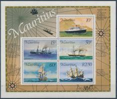 1976 Postahajók blokk Mi 4