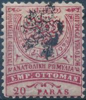 Definitive stamp with lion overprint, Forgalmi bélyeg oroszlános felülnyomással