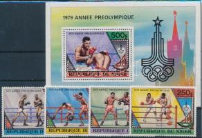 1979 Olimpia sor Mi 673-676 + blokk 24
