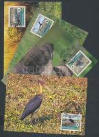 2000 WWF ritka állatfajták sor Mi 718-721 4 CM
