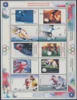 1998 Olimpiai emléklap