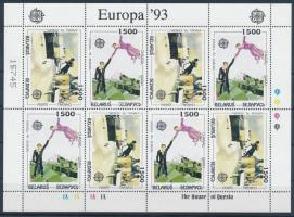 1993 Europa CEPT, Kortárs művészet kisív Mi 55-56