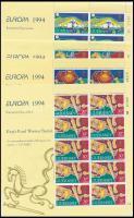 1994 Europa CEPT, találmányok és felfedezések kisív sor Mi 635-638