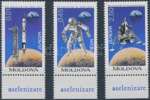 1994 Europa CEPT, találmányok és felfedezések ívszéli sor Mi 106-108
