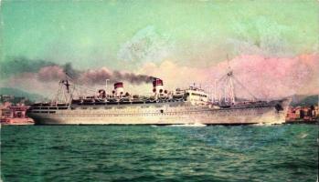 SS Conte Biancamano, SS Conte Biancamano hajó