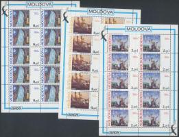 1995 Europa CEPT, béke és szabadság kisív sor Mi 164-166