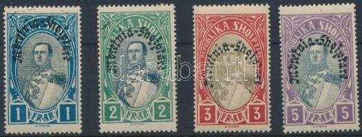 Forgalmi záróértékek, Definitive closing stamps