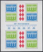 1984 Europa CEPT Konferencia blokk Mi 26 (apró saroktörés)
