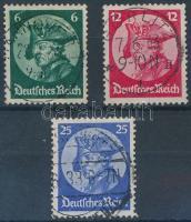1933 Nagy Frigyes sor Mi 479-481