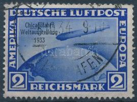 1933 Zeppelin - Chicago Mi 497