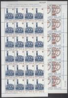 1987 Europa CEPT Modern építészet kisív sor Mi 193-194