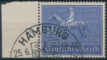 1939 70 éves a Német Derby ívszéli Mi 698