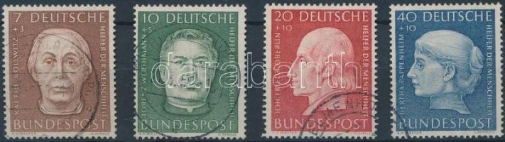1954 Jólétért sor Mi 200-203