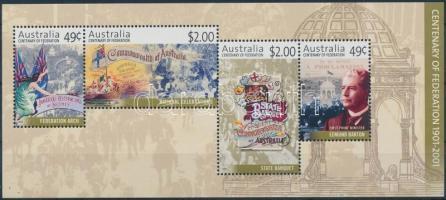 Australian Commonwealth block, 100 éves az Ausztrál Nemzetközösség blokk