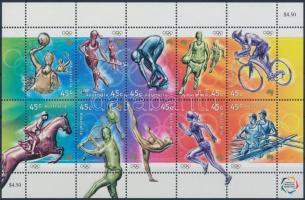 2000 Nyári olimpia, Sydney (I) kisív Mi 1951-1960