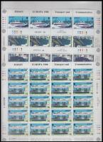 1988 Europa CEPT Közlekedés és kommunikáció kisívsor Mi 435-438