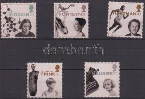 1996 Híres nők, benne Europa CEPT bélyegek sor Mi 1647-1651