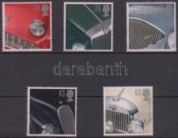 1996 Brit autók sor Mi 1657-1661
