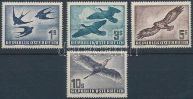 1953 Madarak sor Mi 984-987
