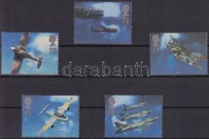 1997 Repülőgép tervezők sor Mi 1696-1700