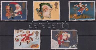 1997 Karácsony sor Mi 1714-1718
