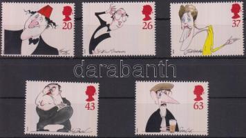 1998 Karikatúrák, híres komikusok sor Mi 1749-1753