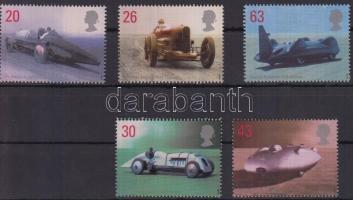 1998 Járművek sor Mi 1767-1771