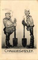 Ghaussekitzler / German soldiers, humour