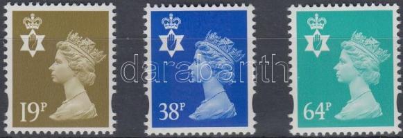Észak Írország 1999 Forgalmi sor Mi 75-77